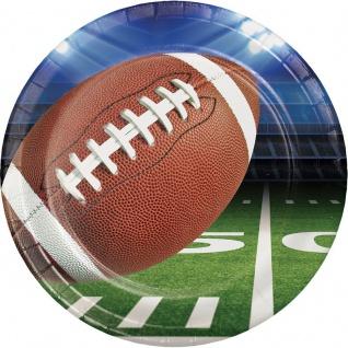 8 Teller American Football Superbowl Party