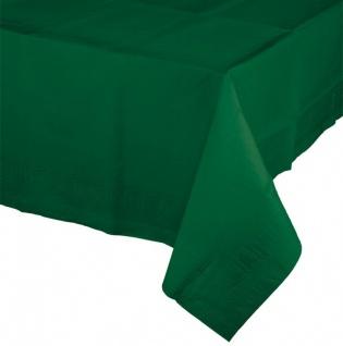 Papier Tischdecke Dunkel Grün - Vorschau