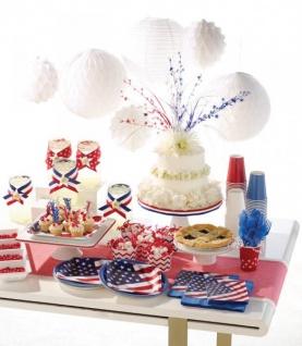 36 kleine Servietten USA Party - Vorschau 3