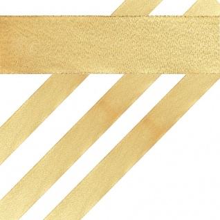 Glitzerndes Geschenkband in Gold 4 cm breit 2 Meter lang