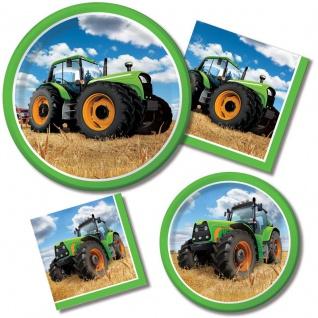 8 kleine Teller Traktor Party - Vorschau 2