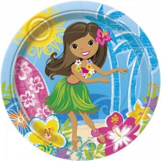 8 Papp Teller Hula Beach Party