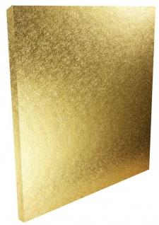 Tortenplatte Gold quadratisch 25 cm