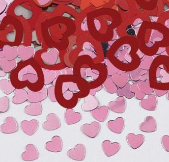 Valentinstag Konfetti 3er Pack Amor - Vorschau 2