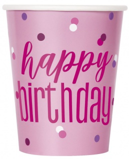 32 Teile 13. Geburtstag Pink Dots Party Set 8 Personen - Vorschau 3