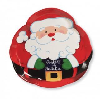 Weihnachtsmann Tablett
