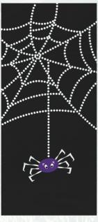 XXL 58 Teile Halloween Deko Set Spinnen Netz für 8 Personen - Vorschau 5