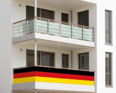 Balkonumrandung Deutschland Flagge - Vorschau 2