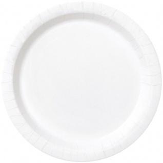 16 Papp Teller Weiß