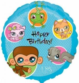 Geburtstags Folienballon Littlest Pet Shop