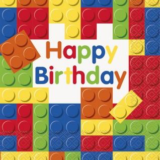 48 Teile Bausteine Geburtstags Party Set für 16 Kinder - Vorschau 4