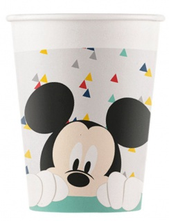 8 Papp Becher Disney Mickey Forever