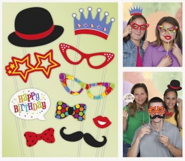 Foto und Selfie Set Geburtstags Party
