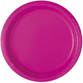100 Teile Party Deko Set Neon Pink für 28 Personen - Vorschau 2