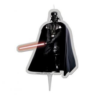 Darth Vader Kuchenkerze