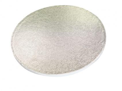 Tortenplatte Silber rund 35 cm