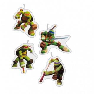 4 Mini Figuren Kerzen Ninja Turtles - Vorschau 2