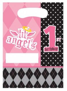 8 Erster Geburtstag Angel Party Tüten
