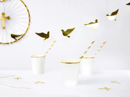 Girlande Gold foliertert mit Tauben - Vorschau 2