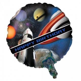 Weltraum Mission Folien Ballon