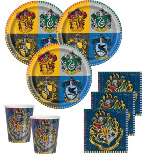 32 Teile Harry Potter Party Deko Set 8 Personen