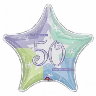 50. Geburtstag Folien Ballon