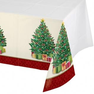 Tischdecke perfekter Weihnachtsbaum