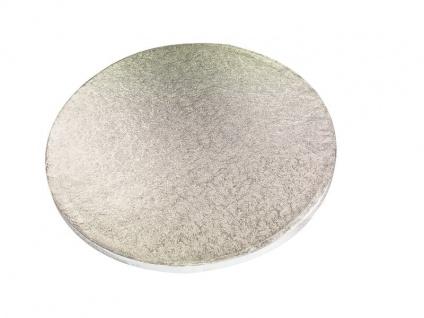 Tortenplatte Silber rund 30 cm