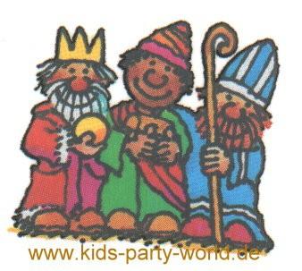 Weihnachts Mini Tattoo Heilige 3 Könige