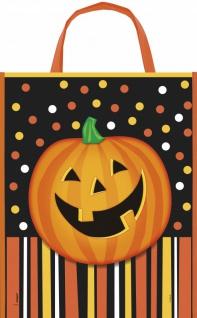 Halloween Sammel Tasche lachender Kürbis