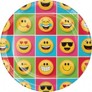 8 Papp Teller Emoticons