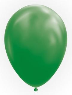 10 Luftballons in Grün 30cm