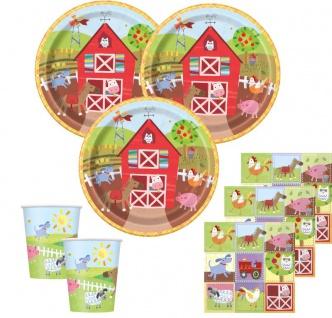Bauernhof kleine Farm Geburtstags Girlande - Vorschau 2