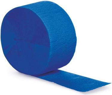 Krepp Band Cobalt Blau