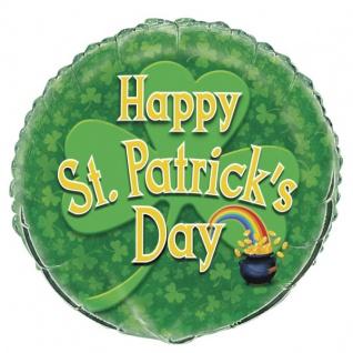 St. Patricks Day Folienballon