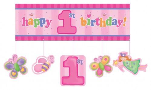 XXL Erster Geburtstags Banner
