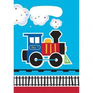 8 Party Tüten Eisenbahn Party