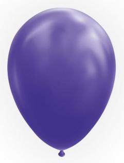 10 Luftballons in Violett 30cm