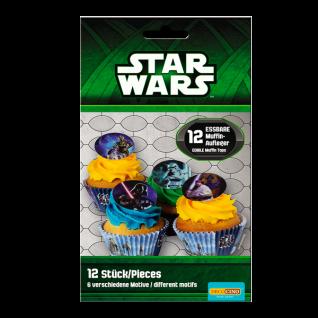 12 Muffinaufleger Star Wars