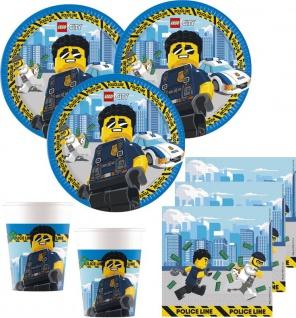 36 Teile Lego City Party Deko Set 8 Kinder