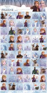 1 Bogen Eiskönigin Mini Papier Sticker