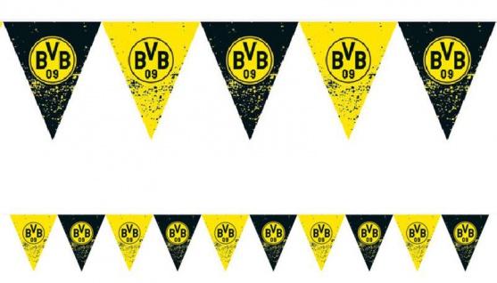 BVB Borussia Dortmund Wimpel Girlande 4m