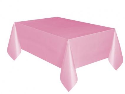 Plastik Tischdecke Baby Rosa
