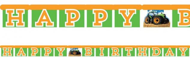 Geburtstags Girlande Traktor Party