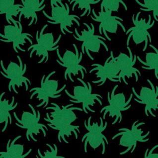 Mini Spinnen Konfetti - leuchten im Dunkeln