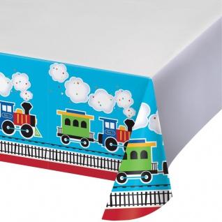 Eisenbahn Party Tischdecke