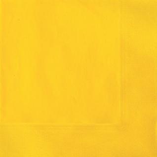 20 Servietten Sonnenblumen Gelb