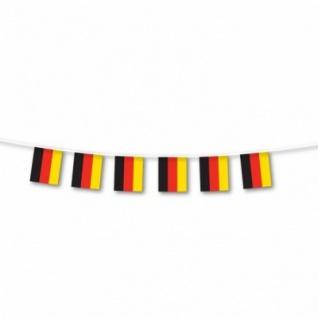 Flaggenkette Deutschland