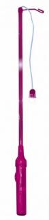 Elektrischer Laternenstab Pink Blinklicht - Vorschau