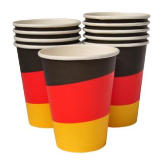 10 Pappbecher Deutschland